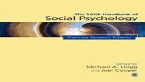 Download The SAGE Handbook of Social Psychology  Concise Student Edition  SAGE Social Psychology
