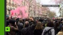 Loi Travail : la police charge les protestataires lors des manifestations à manifestations à Paris