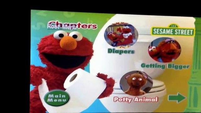 Sesame Street Elmo Potty Time 2006 Dvd Menu Dailymotion Video