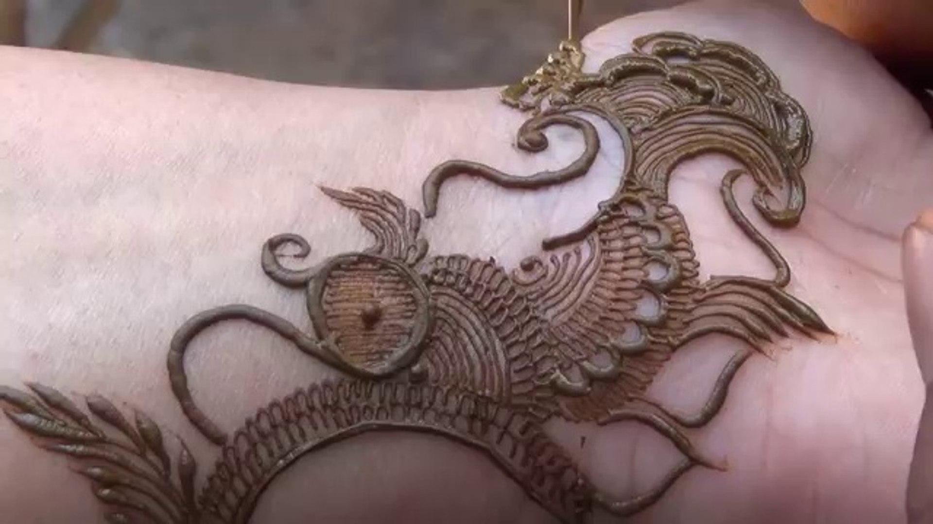 modern arabic mehndi designs for front hand