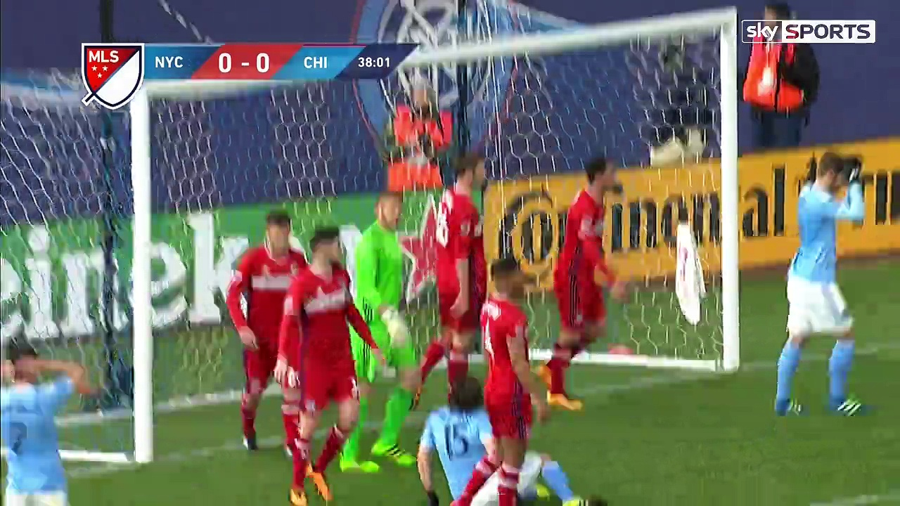 New York City v Chicago Fire (11th April) – MLS (Highlights)