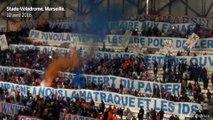 Les supporteurs marseillais expriment leur colère Vélodrome