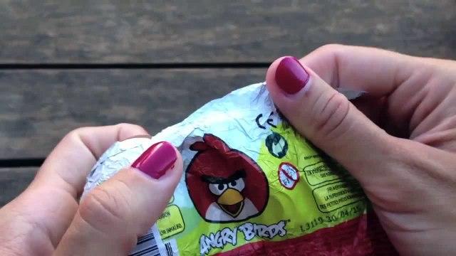 Angry Birds Surprise Eggs Angry Birds Toys Angry Birds Huevos Sorpresa Part 2
