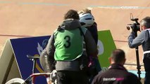 Paris - Roubaix: Cancellara'nın trajikomik Paris-Roubaix vedası...