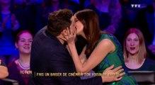 Le baiser de cinéma de Frédérique Bel et Arthus ! - ZAPPING TÉLÉ DU 11/04/2016