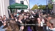 Exclusive - Justin Bieber Fans Go Crazy in Germany | Justin Bieber Fans fall down, cry and scream