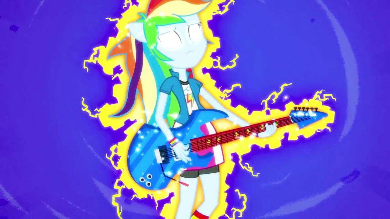 MLP: Equestria Girls – Rainbow Rocks EXCLUSIVE Short – Guitar Centered