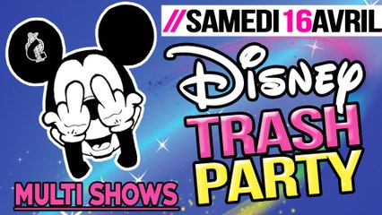 TEASER DISNEY TRASH PARTY @ LE CESARS 76
