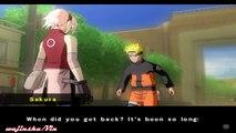 Naruto Shippuden Ultimate Ninja 5 Walkthrough Part 1 Naruto/Sakura vs Kakashi (Kazekage Rescue Arc)