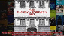 Read  Paris Mansions and Apartments 1893 Facades Floor Plans and Architectural Details Dover  Full EBook