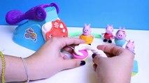 Peppa Pig Play Doh Fun Factory Machine Peppa's Dough Set Hasbro Toys Juguetes de Plastilina Part 4