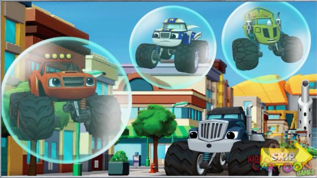 Blaze and the Monster Machines - Blaze: Race to the Rescue (New Nick Junior kids games)