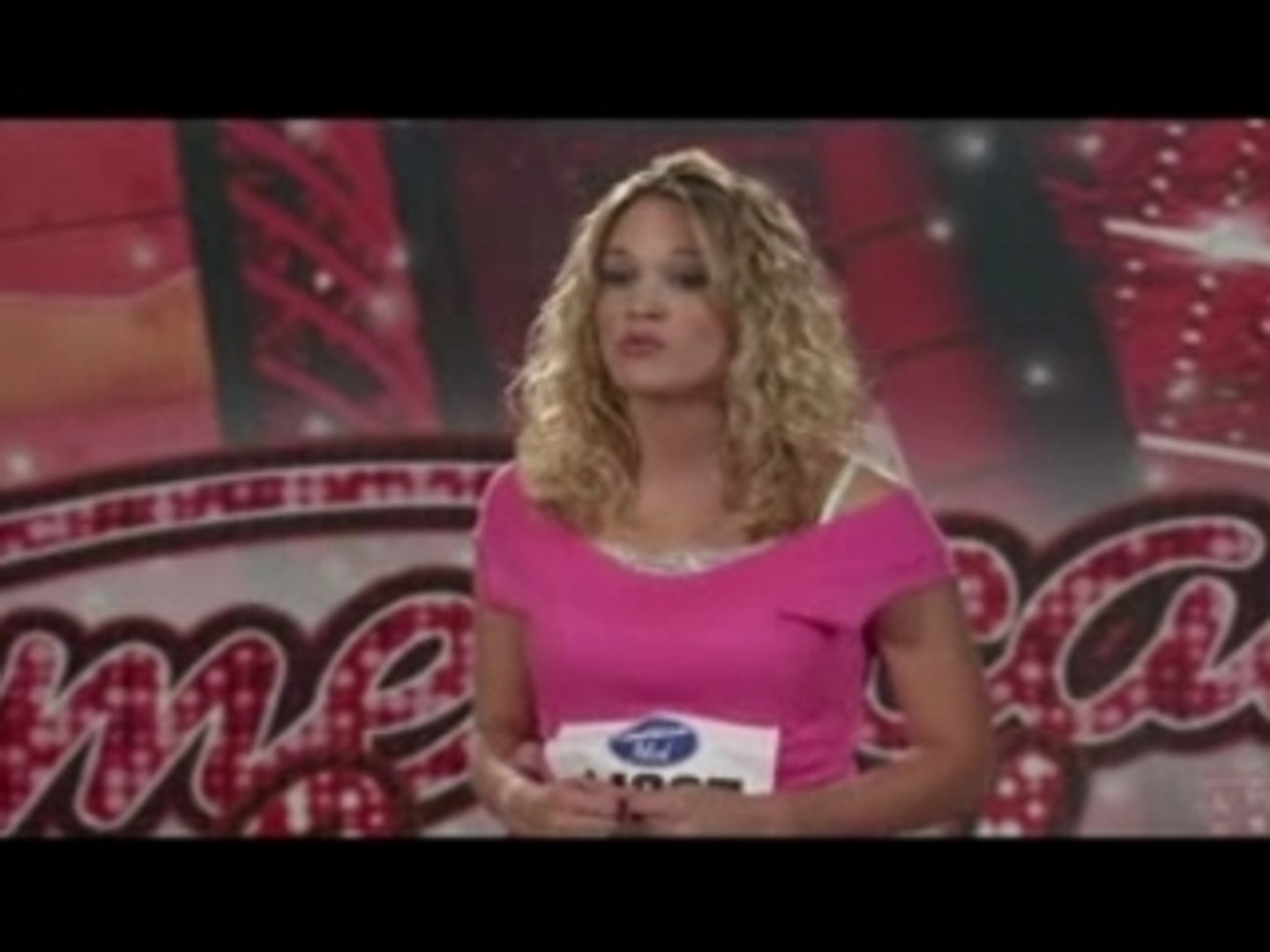 American Idol Carrie Underwood Audition Video Dailymotion