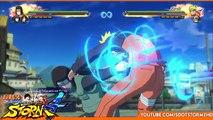 Naruto Shippuden Ultimate Ninja Storm 4 - Neji Hyuga Jutsu Awakening Moveset Gameplay