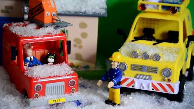 Fireman Sam Episode Postman Pat SNOW Special Delivery Pontypandy Animation
