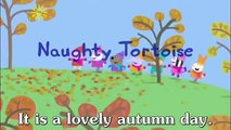 Learn english through cartoon - Peppa Pig subtitled - Episode 52- Naughty Tortoise subtitled