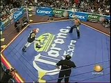 AAA-SinLimite 2009-04-10 Ciudad 02 AAA Cruiserweight Title Quarter Final - Alan Stone vs. Escoria