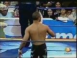AAA-SinLimite 2009-04-17 Tepic 03  AAA Cruiserweight Title Quarter Final - Alex Koslov vs. Rocky Romero