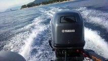 YAMAHA 25hp Yeo Autolube 2stroke - video dailymotion