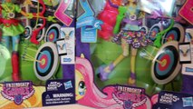 My Little Pony Equestria Girls Friendship Games Fluttershy and Applejack Review