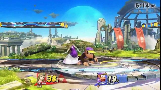 WiFi Battle #4 - GM   emmgee (Zelda) vs Orpheus (Diddy)