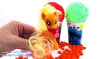 Elmo Foam Clay Surprise Eggs Ice Cream Cups Disney Frozen Minions Donald Duck RainbowLearning