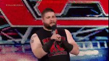 WWE RAW 4/11/16 - Kevin Owens interrupts Shane McMahon- Raw, April 11, 2016