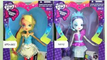 MLP EG Rainbow Rocks Economy Applejack & Rarity - My Little Pony - Equestria Girls