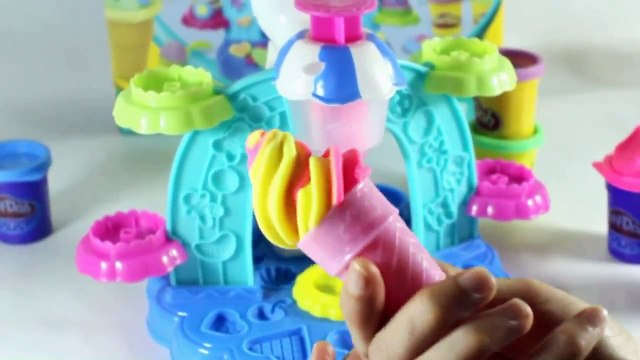 Play Doh Ice Cream Shop egg surprise ice ream peppa pig english episodes new episodes 2015