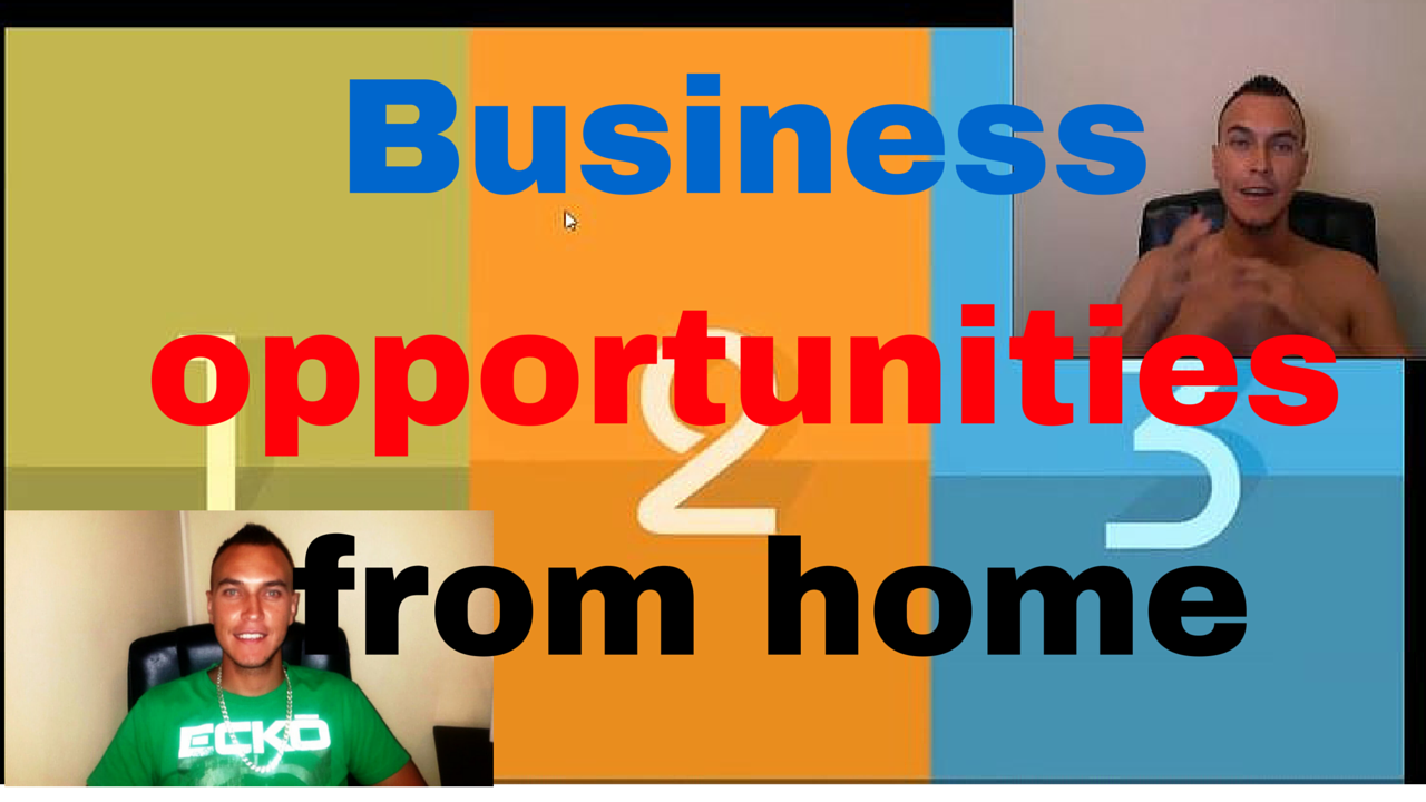 Business opportunities from home by Errol Muller