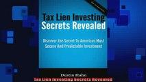 Free PDF Downlaod  Tax Lien Investing Secrets Revealed  BOOK ONLINE