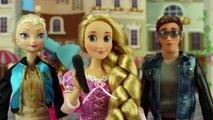 Princess Rap Battle Elsa vs Hans Hosted by Rapunzel. DisneyToysFan.