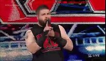 WWE RAW 4-11-16 - Kevin Owens interrupts Shane McMahon- Raw, April 11, 2016