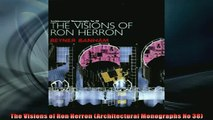 EBOOK ONLINE  The Visions of Ron Herron Architectural Monographs No 38  BOOK ONLINE