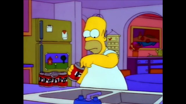 The Simpsons - Homers song about beer