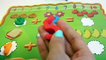 Peppa Pig Classroom Learn To Count with Play Doh Numbers Learn Numbers 1 to 10 Playdough