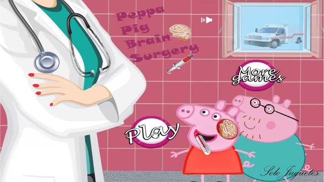 Peppa Pig Lesionada -  Peppa Pig Enferma ᴴᴰ ❤️ Juegos Para Niños y Niñas