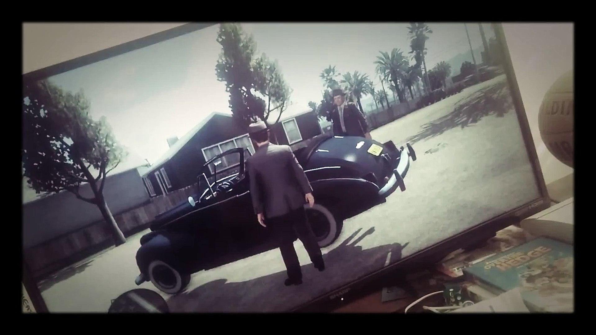 Weird glitches in L.A. Noire