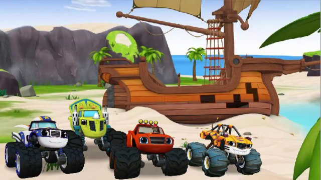 Blaze Race to the Top of the World - Blaze and the Monster Machines - Baby Games HD