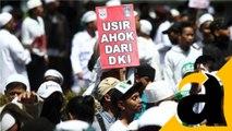 FBR Demo di Depan KPK Tuntut Kasus Ahok Diselesaikan