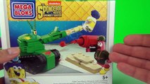Spongebob Squarepants Pickle Tank Attack Playset Toy Review Unboxing Mega Bloks Toys