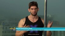 Pole dancing fitness with David from Pole Dance Cape Town