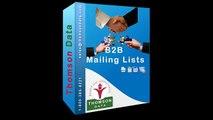 B2B Mailing List - B2B Marketing Lists - B2B Data Lists