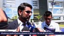 Khudurun invite d'autres citoyens à dénoncer les cas de corruption