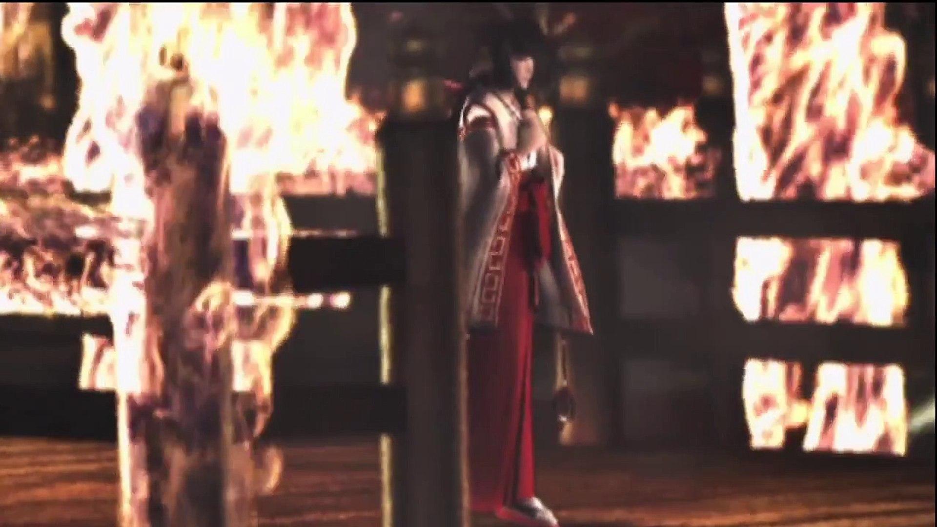 Ninja Gaiden Black Doku Village Attack Cutscene Video Dailymotion
