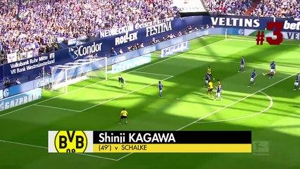 Top 5 bàn đẹp nhất Châu Âu tuần qua