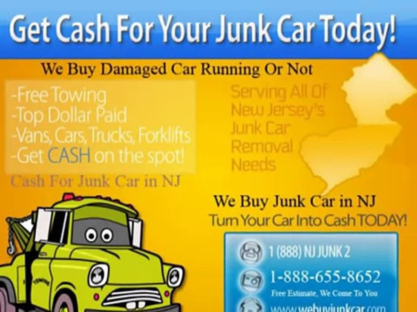Sell Your Junk, Scrap and Wrecked Car to Professional Buying Service in New  Jersey