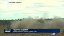 Syria: Russian helicopter crashed, 2 pilots killed
