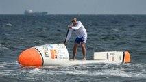 Fransız Kürekçi, Atlas Okyanusu'nu Tek Başına Geçecek