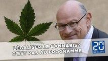 Le Guen pour la légalisation du cannabis? C'est pas encore au programme